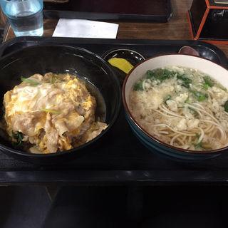 スタミナ丼セット(末広庵 )