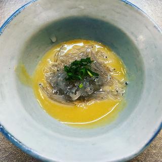 生しらす酢味噌和え(鮨まさ )
