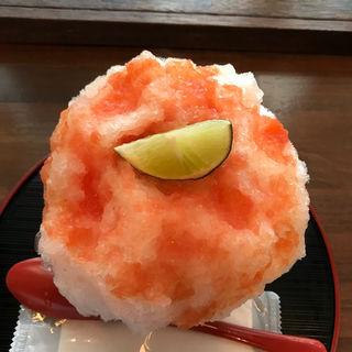 グレープフルーツのカキ氷(大阪浪花家 )