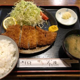 ヒレカツ定食(大増 )
