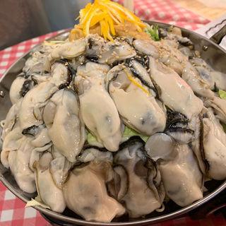 牡蠣鍋(立呑み処 まるや )