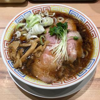 サバ醤油そば(サバ6製麺所 京橋店)