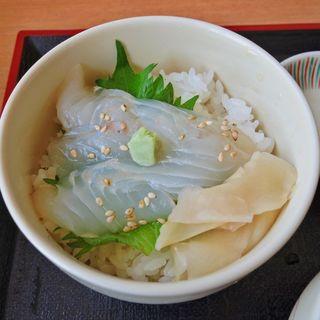 地魚の鱈魚醤漬丼(ねむの丘レストラン眺海 )