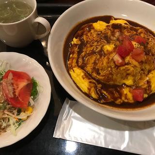 オムカレー(エスペリア (Dining Cafe Esperia))