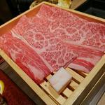 牛すき焼き特上盛り