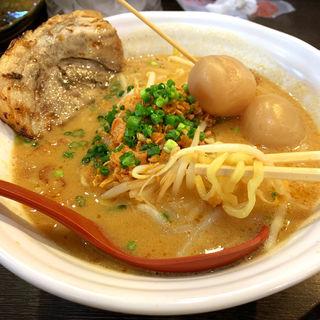 山形味噌らーめん(麺場 田所商店 本店)
