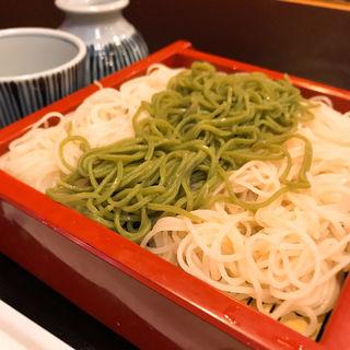 三色蕎麦(芝大門 更科布屋 本店 (さらしなぬのや))