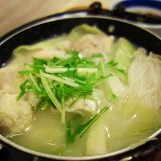 水炊き定食(みよしの食堂)