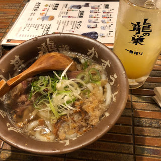 かすうどん(龍の巣 博多中州店 )