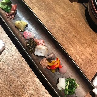 旬の鮮魚カルパッチョ盛り(フミーズ・グリル (fummy's grill))