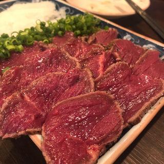 豪快 馬肉たたき(大衆馬肉酒場 冨士山 )