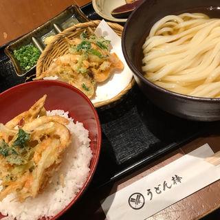 かき揚げうどん(うどん棒 大阪本店)