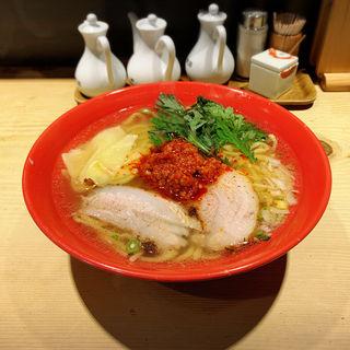赤丸塩ら~麺(本丸亭 鶴屋町店 )
