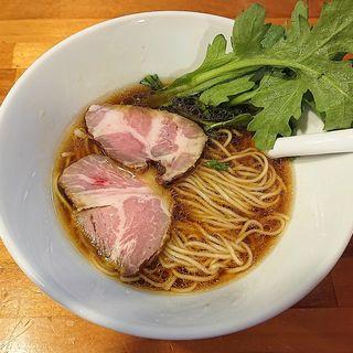 地鶏醤油(極汁美麺 umami)