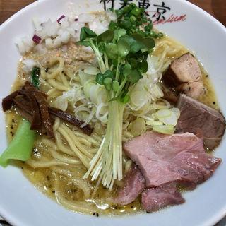 鶏ホタテそば(竹末東京プレミアム )
