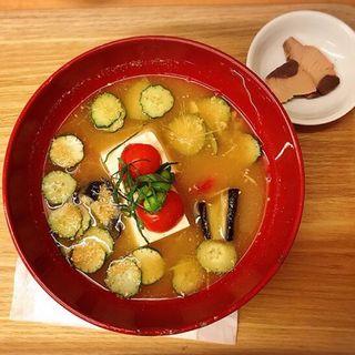 みそしるセット(美噌元 KITTE GRANCHE店)