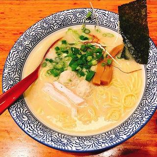 濃厚鶏塩らーめん(友 (赤坂麺処 友))