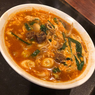 テグタン麺(うどんラーメンから選べます)(黒牛 )