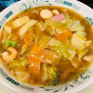 五目あんかけラーメン(日高屋 上野広小路店 )
