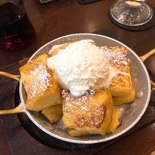 フレンチトースト(星乃珈琲店 ホワイティうめだ)