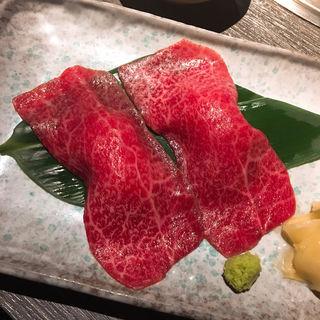 黒毛和牛炙り寿司(京・黒桜 )