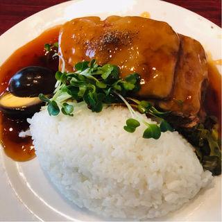 角煮定食(台湾)
