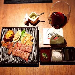 特選黒毛和牛ステーキ サーロイン(八丁堀黒きん )