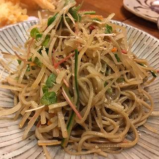 蕎麦サラダ(流石 (さすが))