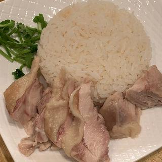海南チキンライス(麻辣担々麺 堂島 )