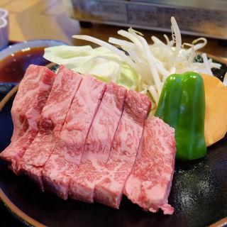 飛騨牛ロース定食(もみの木 )