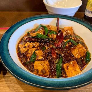 麻婆豆腐定食(杏仁荘 )