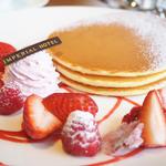 季節のパンケーキ(カフェ クベール (CAFE COUVERT))