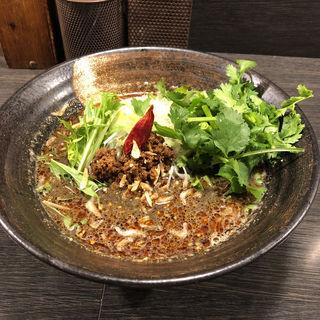 黒胡麻坦々麺(香氣 四川麺条 祖師ヶ谷大蔵店)