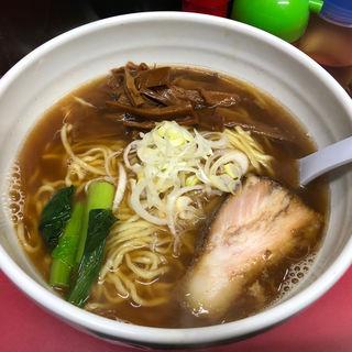 メンマラーメン(麺 えどや )
