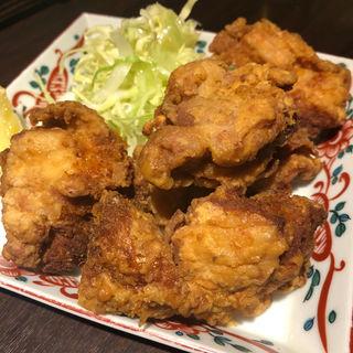 若鶏のジンジャー唐揚げ(そば居酒屋 満月 女子大店 )