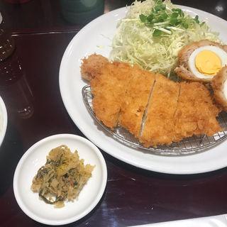 チキンカツ・スコッチエッグ・梅干しフライ