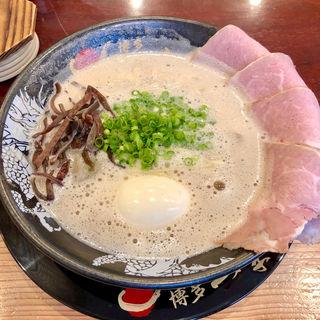 味玉チャーシューメン(博多一幸舎 博多本店)