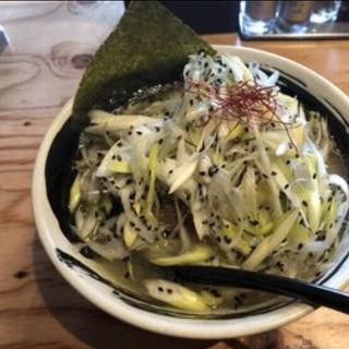 ねぎ塩鶏ラーメン(麺場 浜寅 東戸塚店)