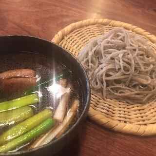 鴨汁(そば切り 山親爺 (やまおやじ))