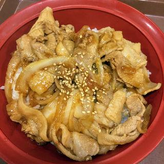 豚生姜焼き丼(すき家 セントラルパーク店 )
