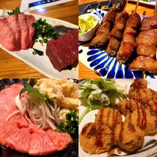 名物牛タン串焼き(たんか (TANCA))