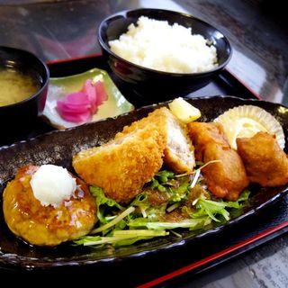 マグロミックスフライセット(北かつまぐろ屋 田中前店 )