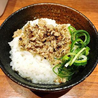 鯵茶漬け(煮干中華そば鈴蘭 新宿店 (すずらん))
