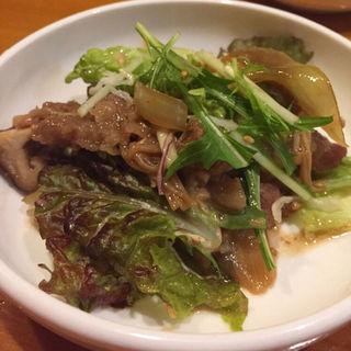 プルコギのサラダ(京の韓国家庭料理 ハムケ (Hamke))