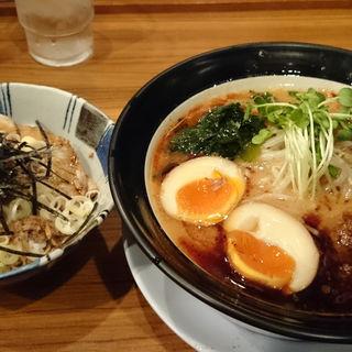 焦がし味噌ラーメン 特製(麺屋 楼蘭 (めんや ろうらん))