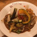 野菜チキンカレー
