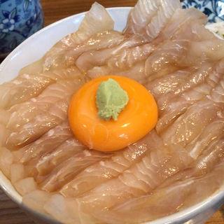 平目漬丼(みなと食堂 (みなとしょくどう))