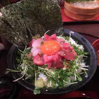 海鮮ユッケ丼(まるさ水産 伏見店 )