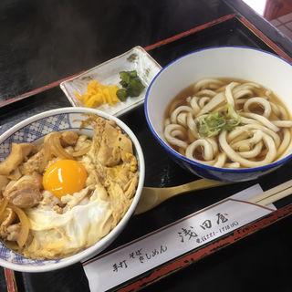 親子丼+ミニうどんセット(浅田屋 )