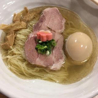鯛塩そば(半熟味玉+)(鯛塩そば 灯花 (とうか))